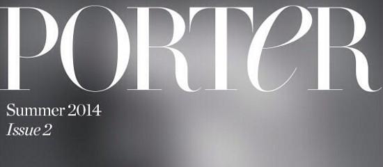 Lady Gaga en couverture de Porter Magazine