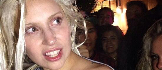 Lady Gaga en soirée à Austin