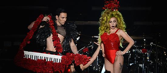 Lady Gaga au Roseland Ballroom (02/04)