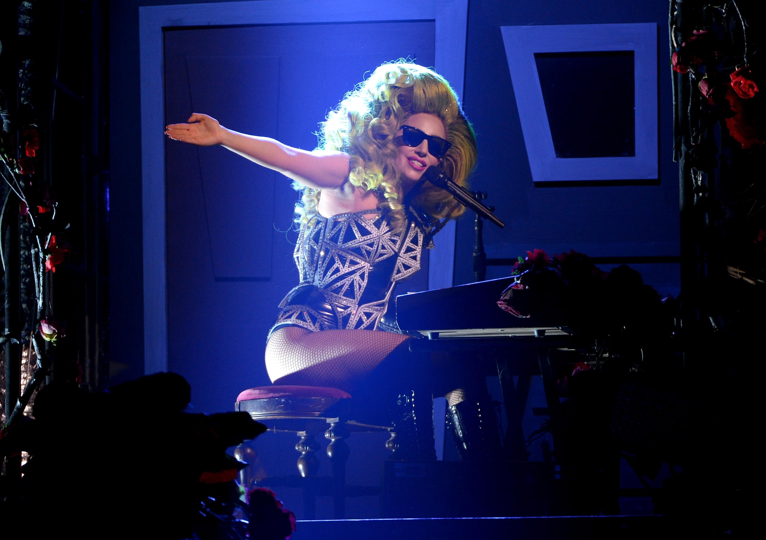 Lady Gaga au Roseland Ballroom (06/04)