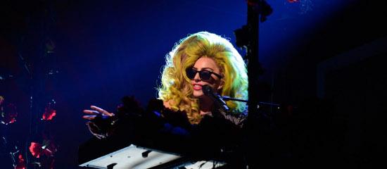 Lady Gaga au Roseland Ballroom (04/04)