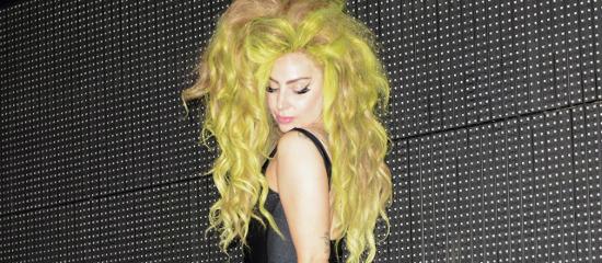 Lady Gaga en after-party après le Roseland