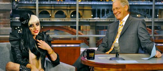 Lady Gaga au Late Show de David Letterman