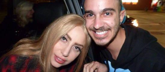 Lady Gaga dans les rues des USA