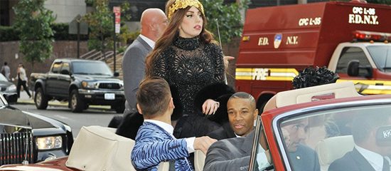 Lady Gaga vend sa Rolls Royce aux enchères