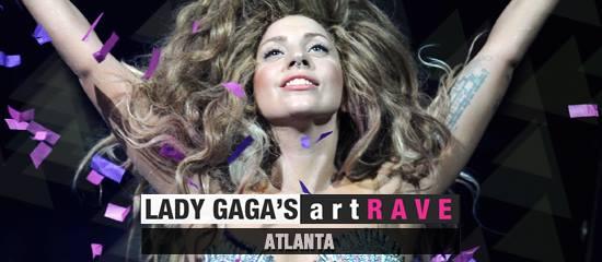 Lady Gaga's artRAVE – Atlanta (25/07) [concert privé]