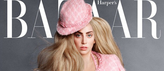 Lady Gaga pour Harper's Bazaar