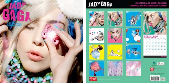Lady Gaga : Calendrier Officiel 2015
