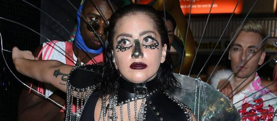 Lady Gaga à l'after-party de l'ArtRave