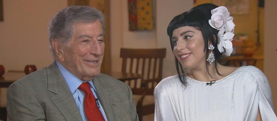 Interviews TV de Lady Gaga & Tony Bennett