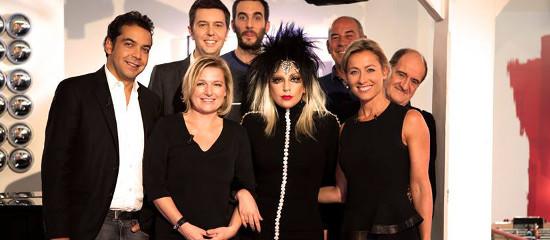Lady Gaga en promotion Française