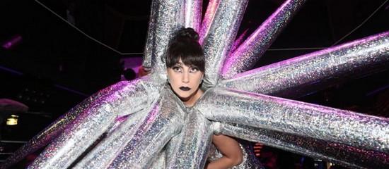 Lady Gaga en After-Show au VIP ROOM