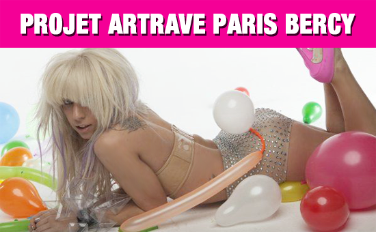 Projet ArtRave Paris Bercy – sur GYPSY