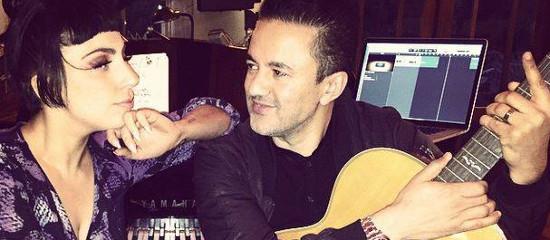 Lady Gaga en studio avec RedOne