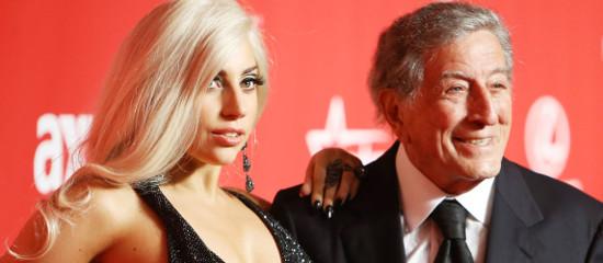 Lady Gaga au gala MusiCares