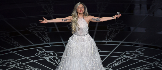 Lady Gaga aux Oscars 2015