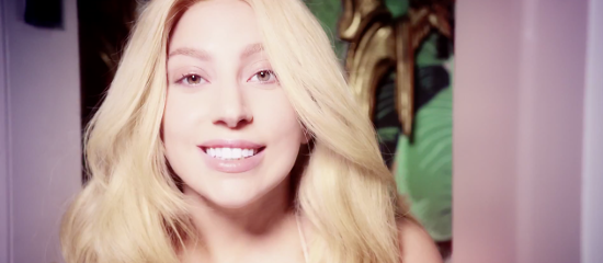 [Photos] Lady Gaga pour Shiseido