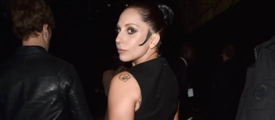 Lady Gaga au défilé Balenciaga
