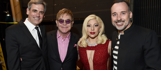Lady Gaga à « Backstage at the Geffen »