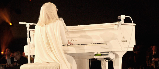Lady Gaga aux Pre Grammy Awards