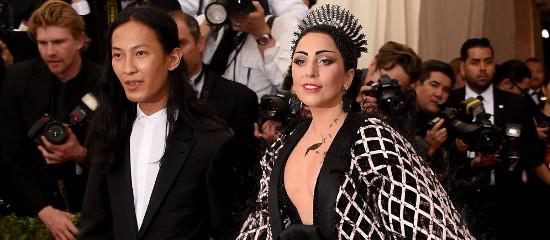 Lady Gaga au MET Gala 2015