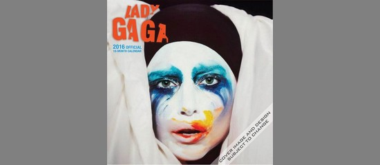 Lady Gaga : Calendrier Officiel 2016