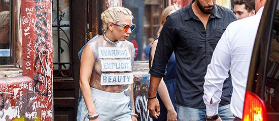 Lady Gaga à Amsterdam
