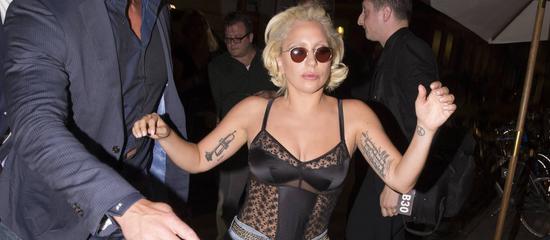 Lady Gaga à Copenhague