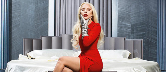Photoshoot de Lady Gaga pour AHS