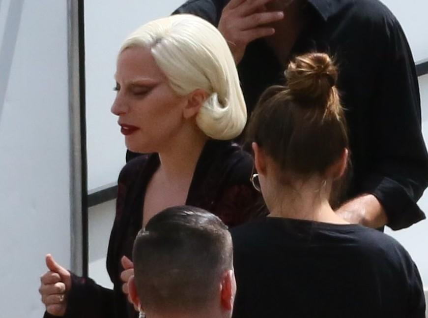 Lady Gaga sur le tournage d'AHS – Part 2