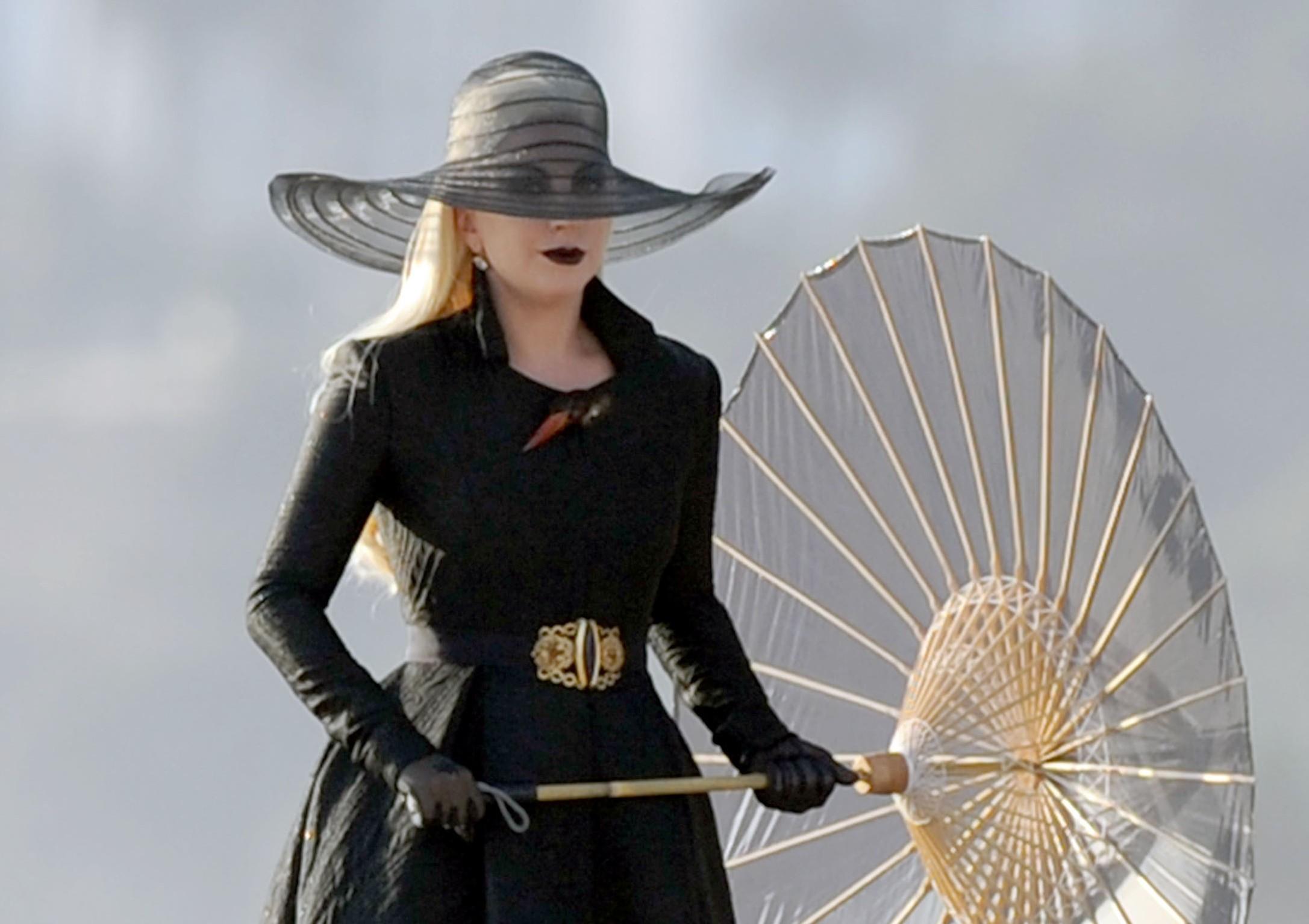 Lady Gaga sur le tournage d'AHS – Part 1