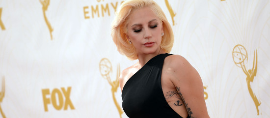 Lady Gaga aux EMMY Awards 2015