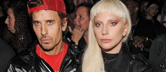 Gaga au défilé d'Alexander Wang