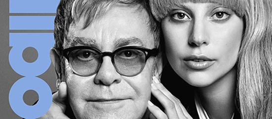 Lady Gaga et Elton John pour Billboard