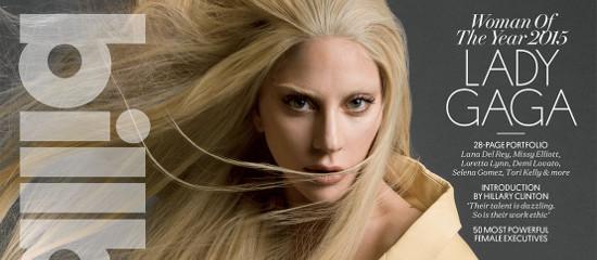 [Billboard // Magazine] Lady Gaga Femme de l'Année
