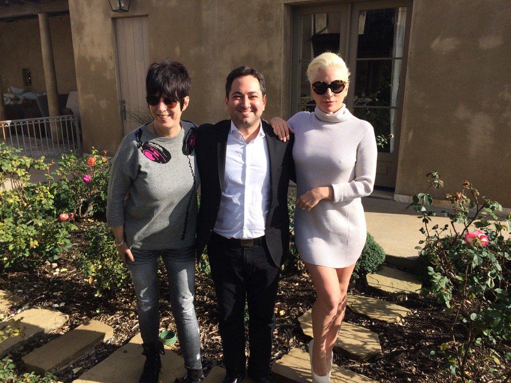 Lady Gaga & Diane Warren pour le Hollywood Reporter