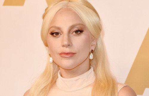 Lady Gaga au déjeuner des Oscars