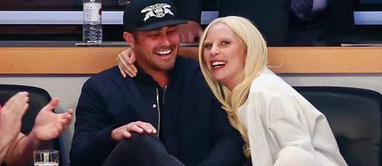 Lady Gaga & Taylor au match des Blackhawks