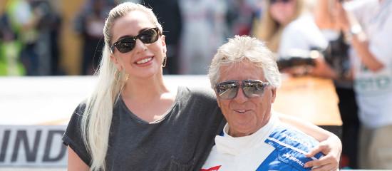 Lady Gaga à la course Indy 500