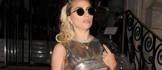 Lady Gaga à Londres