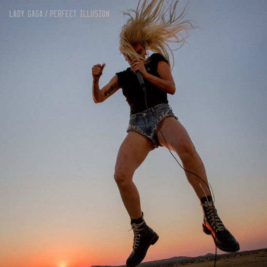 Lady Gaga – Perfect Illusion : Pochette, photos, paroles