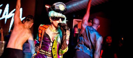 Lady Gaga en tournée dans des bars