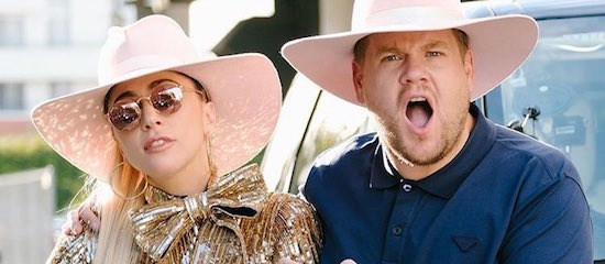 Lady Gaga dans le Carpool Karaoke