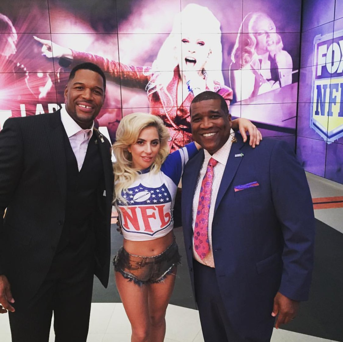 Interview de Lady Gaga pour la NFL