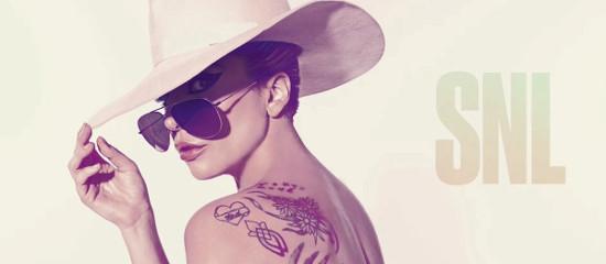 Lady Gaga dans le Saturday Night Live