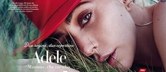 Lady Gaga pour Vanity Fair Italie