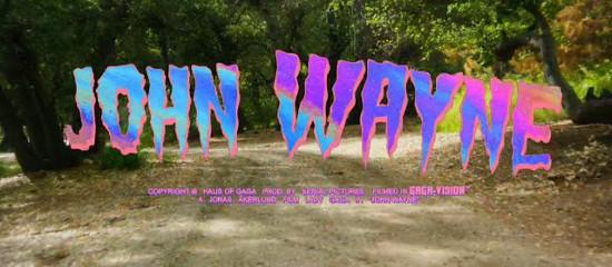 Lady Gaga sort le clip de John Wayne