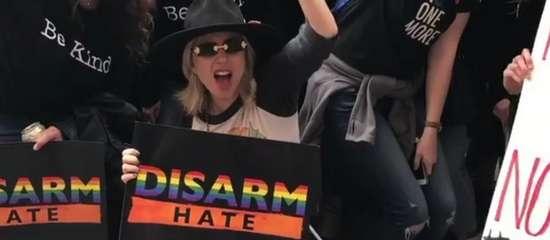 Lady Gaga à la «Marche pour nos vies»