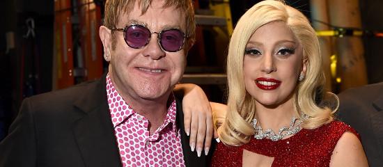 Lady Gaga reprend Elton John