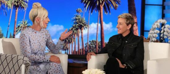Lady Gaga chez Ellen Degeneres
